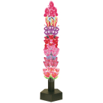 "Air-Filled Corrugated Tower Display 24""/61cm w/d x 60""/152cm h - 1 PC"