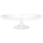 Clear Large Dessert Stands 34.2cm - 4 PC