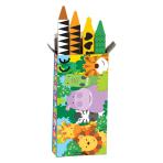 Jungle Friends Crayons - 6 PKG/4