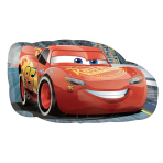 "Cars 3 Lightning McQueen SuperShape Foil Balloons 30""/76cm x 17""/43cm P38 - 5 PC"