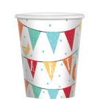 Barnyard Birthday Paper Cups 266ml - 12 PKG/8