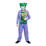 Joker Comic Style Costume - Age 8-10 Years - 1 PC