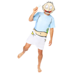 Rugrats Tommy Costume - Small Size - 1 PC