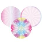 Mystical Fan Decorations - 6 PKG/3