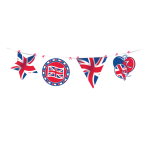 Great Britain Make-Your-Own Cut-out Banners - 4m x 23cm - 3 PC