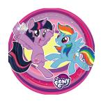 My Little Pony Paper Plates 18cm - 10 PKG/8