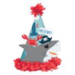 Ahoy Birthday 1st Birthday Cone Hats 17cm - 6 PC