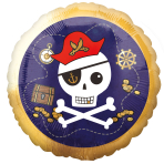 Pirate Standard Foil Balloons S40 - 5 PC
