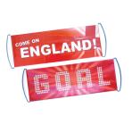 England Day Fan Banners 77cm x 24cm - 6 PC