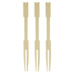Bamboo Cocktail Forks - 12 PKG/70