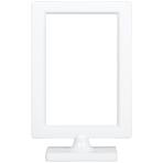 White Plastic Picture Frame 19cm x 12cm - 18 PC