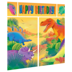 Prehistoric Party Scene Setters Wall Decorating - 12 PKG/5