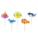Ocean Buddies Toothpick Candles - 12 PKG/5