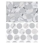 Silver Foil Circle Confetti 63g - 12 PC