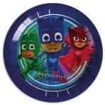 PJ Masks Paper Plates 23cm - 12 PKG/8