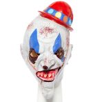 Scary Mime Full Head Masks - 2 PC