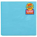 Caribbean Blue Dinner Napkins 40cm 2ply - 12 PKG/50