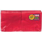 Apple Red luncheon Napkins 33cm - 6 PKG/125