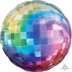 "70s Disco Fever - Jumbo Foil Balloons - 32""/81cm w x 32""/81cm - S40 - 5 PC"