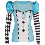 Wonderland Long Sleeve Top - Size S/M - 2 PC
