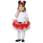 Disney Red Minnie Tutu and Headband - Age 1-2 Years - 1 PC