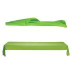 Kiwi Green Jumbo Plastic Table Rolls 1m x 76m - 1 PC