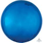 "Blue Orbz Packaged Foil Balloons 15""/38cm w x 16""/40cm h G20 - 5 PC"