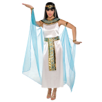 Adults Queen Cleopatra Costume - Size 10-12 - 1 PC