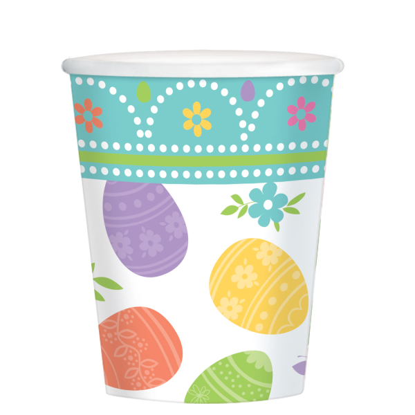 Lovely Easter Paper Party Cups X 8 13051615956 Ebay