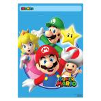 Super Mario Folded Loot Bags - 6 PKG/8