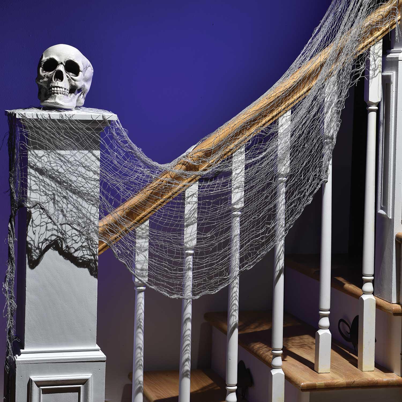 New Haunted House Centrepiece Tafelkunst 28cm w x 28cm d x 22cm h