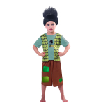 Trolls Boys Branch Costume - Age 5-6 Years - 1 PC