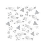 Sparkling Silver Anniversary Confetti 28g - 6 PC