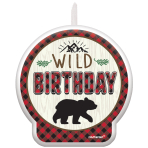 Little Lumberjack Birthday Candles 6.3cm x 5cm - 12 PC