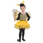 Girls Ballerina Bee Costume - Age 4-6 Years - 1 PC