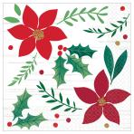 Christmas Wishes Beverage Napkins 25cm - 12 PKG/16