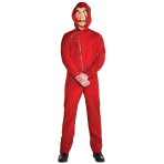 Money Heist Costume - XL Size - 1 PC
