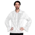 Satin White Shirt - XL Size - 1 PC