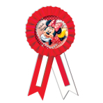 Minnie Mouse Confetti Award Ribbon    - 15.2cm - 6 PKG