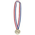 Championship Soccer Award Medal Necklaces - 12 PKG