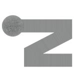 Silver Crepe Streamer 24cm x 4.4cm - 12 PC