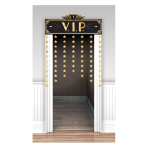 Hollywood VIP Door Curtains 98cm x 1.42m - 6 PC
