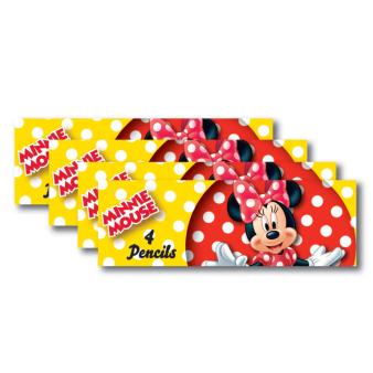Minnie Mouse Pencil Sets - 6 PKG/8