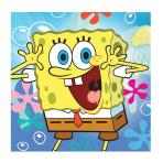 SpongeBob Luncheon Napkins 33cm - 10 PKG/20