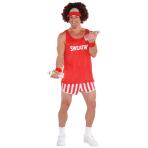 Totally 80s Exercise Maniac Costume Kit - 2 PC