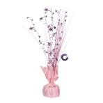 New Pink Spray Centrepiece Balloon Weights 30cm - 6 PC