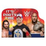 WWE Postcard Invitations - 6 PKG/8