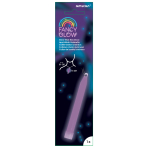 Fancy Glow Purple Stick Necklace 15cm - 6 PC