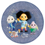 Moon and Me Paper Plates 23cm - 6 PKG/8