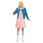 Stranger Things Eleven Costume - Size 10-12 - 1 PC